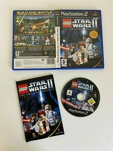 LEGO Star Wars II: The Original Trilogy PS2 - VGC - Complete - Free P&P