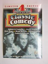Classic Comedy: 4 Movie Box Set (DVD, 2004, 2-Disc Set)- Bud Abbott, Lou Costell