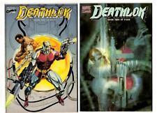 Deathlok #1-4 (1990) Marvel Fn/Fn+ squarebound