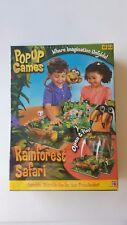 Rainforest Safari Pop-Up Game Mattel Where Imagination Unfolds New Sealed!!!