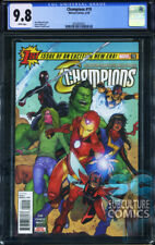 CHAMPIONS #19 - FIRST PRINT - MARVEL - CGC 9.8 - SOLD OUT - FIRST SNOWGUARD