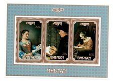 SPECIAL LOT Bhutan 1993 SC 1090a - Paintings - 50 Souvenir Sheets - MNH