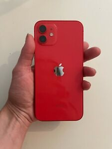 PRISTINE CONDITION iPhone 12 (PRODUCT)RED by Apple - 128GB (UNLOCKED) (UK)
