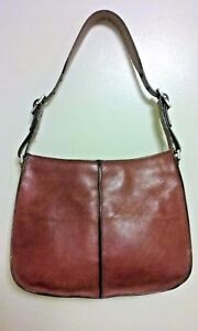 Hype  Thick Brick Leather Hobo Shoulder Bag Purse Baguette FREE SHIPPiNG