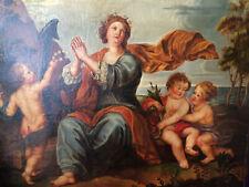 La Sainte Martyre , Ecole de la Fin du XVII ème Siècle