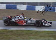 Pedro De La Rosa McLaren MP4-21 F1 Season 2006 Signed Photograph 8