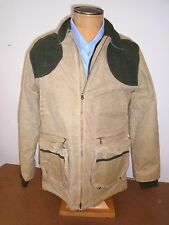 Filson Light Shooting Jacket Soy Waxed Cotton NWT Medium $465 Tan made in USA