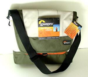 LOWEPRO Slim 12 Inch Green Nylon Widescreen Notebook Sleeve Bag NWT NEW