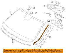 VOLVO OEM 11-16 S60 Windshield-Side Molding Left 31335864