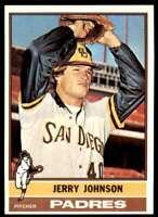 1976 Topps Baseball Nm-Mt Jerry Johnson San Diego Padres #658