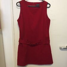 Warehouse 1960's Style Pinafore Dress 14