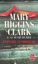 L'AFFAIRE CENDRILLON Mary HIGGINS CLARK Alafair BURKE roman livre policier