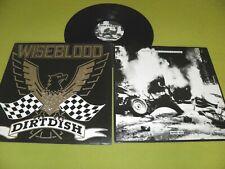 Wiseblood (Foetus, Swans) Dirtdish 1987 UK 1st Press Embossed Sleeve Industrial