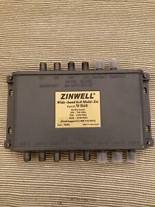 ZINWELL WB68 WIDEBAND 6X8 MULTISWITCH KAKU DISH ANTENNA DIRECTV COMPATIBLE