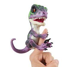 Untamed Raptor by Fingerlings - Razor Purple - Interactive Collectible Baby Di