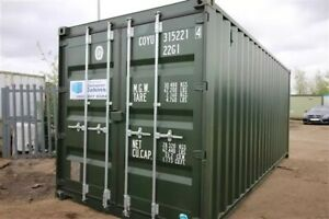 Container Hire 20ft X 8ft, Secure Site, DN36, £25 A Week, Short And Long Term