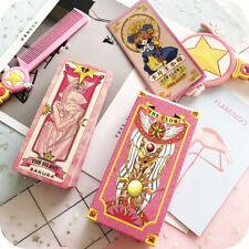 Anime Cardcaptor Sakura Pink Divination Tarot Cards Deck 56 Cards Set