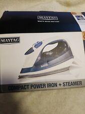 Maytag Speed Heat Steam Iron & Vertical Steamer with Stainless (M200 Blue)