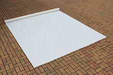 Abdeckplane Lkw Plane PVC Folie 5m x 3,50m ca. 570gr/qm Weiß B-Ware