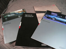 Audi A4 Car Brochures - 1994/96  s2 coupe,cabriolet