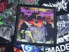Mercyful Fate King Diamond Patch Black Thrash Metal