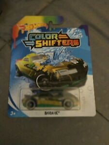 HOT WHEELS DC COLOR SHIFTERS BARBARIC NEW