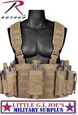 Coyote Special Forces Combat Assault Operators Tactical Chest Rig Rothco 67551