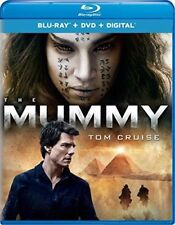 The Mummy (Blu-ray/DVD, 2017, 2-Disc Set, Includes Digital Copy) NEW