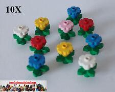 Lego® Creator City 10X Pflanzen mit großen Blüten Blumen gemischt 4727 4728