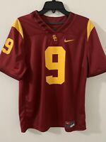 NWT Men's Nike USC Trojans #9 Sz M JuJu Smith-Schuster College Football Jersey