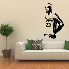 New Basketball Star LeBron James Large Wall Sticker For Kids Rooms Bedroom NBA