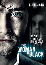 THE WOMAN IN BLACK DVD (2012) horror film DANIEL RADCLIFFE ghosts haunted house