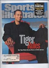 2000 Sports Illustrated Magazine April 2nd Tiger Woods