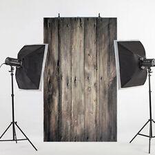 3x5FT Retro Vinyl Photography Backdrop Cloth Wooden Floor Photo Studio Prop Hot*