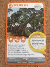 Woolworths Taronga Zoo Ancient Animals Collectable Card #43 Diplodocus
