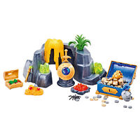 Playmobil Large Treasure Rock Hideout Building Set 6594 NEW Learning Toys