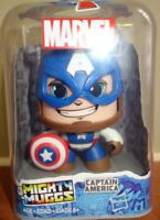 Mighty Muggs ~ CAPTAIN AMERICA FIGURE ~ Hasbro Marvel