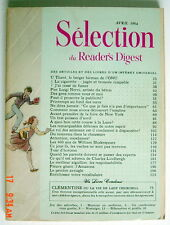SÉLECTION DU READER'S DIGEST DE AVRIL 1964