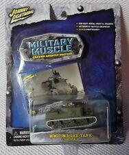 WWII M3 LEE TANK (1:100 Scale)  Johnny White Lightning MILITARY MUSCLE #23 CHASE