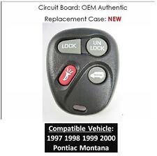 97 98 99 00 Pontiac Montana keyless remote phob controller key fob OEM clicker