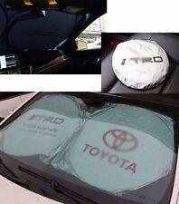 Fit Toyota Front Rear Car Window Foldable Sun Shade Shield Cover Visor UV Block