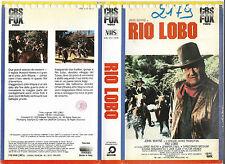 RIO LOBO (1970) vhs ex noleggio