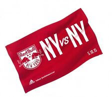 New York Red Bull Bulls NYCFC Derby 2015 Rally Towel 5/10 New York City FC Villa