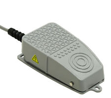 NEW Aluminum Foot Switch 10A SPDT NO NC Electric Power Pedal Momentary CNC S3