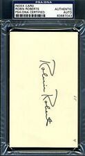 Robin Roberts Psa/Dna Authenticated Signed 3X5 Index Card Autograph