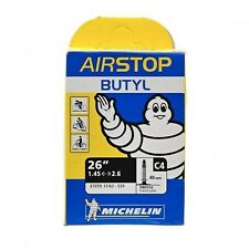 """Chambre à air vélo MICHELIN AIRSTOP BUTYL 26"""" C4 valve FR 40 mm (lot de 3)"""