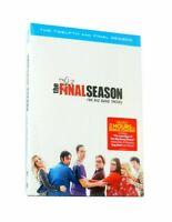 The Big Bang Theory Season 12 (DVD, 3-Disc Set) Free 1st Class Shipping