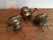Vintage 'Hinks',Oil Lamp Burners X 3!