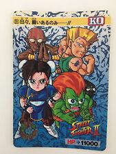 KO Carddass 77 Street Fighter II/' Turbo