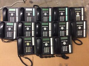 LOT 13x Avaya Black 16 Button Display Office Business Telephone VOIP Phone 1616
